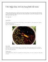 Tài liệu Chè thập cẩm, trái cây lung linh sắc màu pot