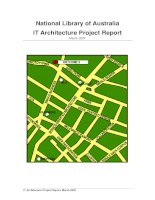 Tài liệu National Library of Australia IT Architecture Project Report ppt