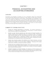 Tài liệu FINANCIAL ACCOUNTING AND ACCOUNTING STANDARDS ppt