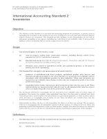 Tài liệu International Accounting Standard 2 Inventories pdf