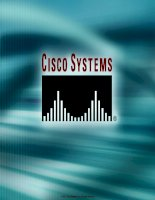 Tài liệu Cisco Systems - Extending switched networks with VLANs pdf