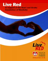 Tài liệu Live Red in support of the Heart and Stroke Foundation of Manitoba pdf