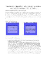 Tài liệu An toàn DB2 UDB, Phần 2: Hiểu các trình cắm thêm an toàn của DB2 cho Linux, UNIX và Windows doc