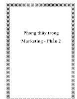 Tài liệu Phong thủy trong Marketing - Phần 2 pdf