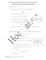 bài toán các phép biến đổi của đồ thị hàm số
