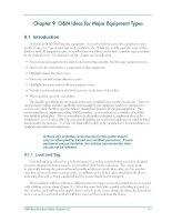 Tài liệu O&M Ideas for Major Equipment Types pptx