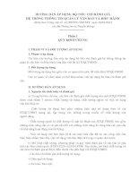 Tài liệu HƯỚNG DẪN ÁP DỤNG BỘ TIÊU CHÍ ĐÁNH GIÁ HỆ THỐNG THÔNG TIN QUẢN LÝ VĂN BẢN VÀ ĐIỀU HÀNH docx