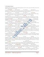 Tài liệu Bài tập áp dụng hóa học pdf