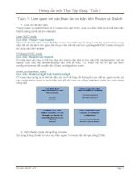 Tài liệu Hướng dẫn môn thực tập mạng - tuần 1 pdf