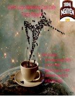 Tài liệu Tiểu luận:Chiến Lược Marketing Của Cafe Trung Nguyên pdf