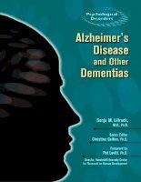 Tài liệu Alzheimer's Disease and Other Dementias doc