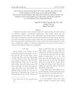 Tài liệu Ảnh hưởng của chế độ sử dụng thuốc bảo vệ thực vật khác nhau đến bọ nhảy (COLLEMBOLA ) ở đất trồng cam Cao Phong (Hòa Bình) pdf