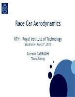 Tài liệu RACE CAR AERODYNAMICS: KTH - ROYAL INSTITUTE OF TECHNOLOGY pdf