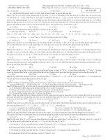 Tài liệu Đề Thi Đại Học Khối A, A1 Vật Lý 2013 - Phần 7 - Đề 4 docx