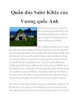Tài liệu Quần đảo Saint Kilda của Vương quốc Anh potx