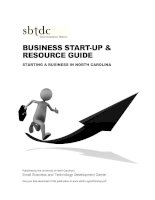 Tài liệu BUSINESS START-UP & RESOURCE GUIDE STARTING A BUSINESS IN NORTH CAROLINA doc