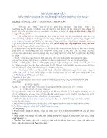 Tài liệu SỬ DỤNG BIẾN TẦN GIẢI PHÁP GIẢM TỔN THẤT ĐIỆN NĂNG TRONG SẢN XUẤT pdf