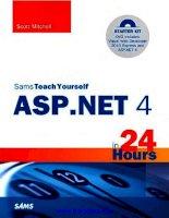 Tài liệu Sams Teach Yourself ASP.NET 4 in 24 Hours ppt