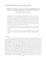 Tài liệu NGHIÊN CỨU NẤM MỐC CÓ KHẢ NĂNG PHÂN GIẢI TINH BỘT PHÂN LẬP TỪ AO NUÔI TÔM Ở ĐẦM SAM – CHUỒN, THỪA THIÊN HUẾ docx