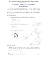 bài toán thể tích hình chóp có cạnh bên vuông góc với đáy LTĐH