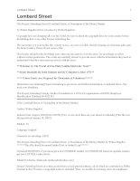 Tài liệu Lombard Street: A Description of the Money Market docx