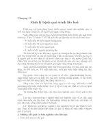 Tài liệu Chương 13 Sinh lý bệnh quá trình lão hoá pptx