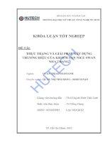 Tài liệu Luận văn:Thực trạng và giải pháp xây dựng thương hiệu của khách sạn Nice Swan Nha Trang pptx
