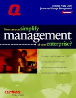 Tài liệu How can you simplify management of your enterprise? pot
