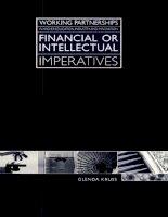 Tài liệu financial or intellectual imperatives doc
