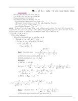 Các dạng toán 9 ôn thi tuyển sinh lớp 10