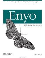 Tài liệu Enyo: Up and Running pptx