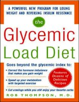 Tài liệu Glycemic Load Diet: A POWERFUL NEW PROGRAM FOR LOSING WEIGHT AND REVERSING INSULIN RESISTANCE pdf