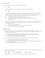 Genetics problems - Đề thi môn sinh học có hướng dẫn chi tiết