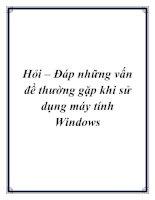 Tài liệu Hỏi – Đáp những vấn đề thường gặp khi sử dụng máy tính Windows pot