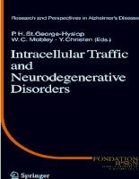Tài liệu Intracellular Traffic and Neurodegenerative Disorders pptx