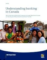 Tài liệu UNDERSTANDING BANKING IN CANADA docx