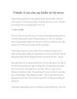 Tài liệu 5 hành vi của cha mẹ khiến trẻ bị stress docx
