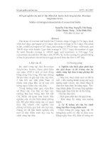 Tài liệu Kết quả nghiên cứu một số đặc điểm sinh họcbọ cánh cứng hại dừa Brontispa longissima Gestro pdf
