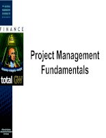 Tài liệu Project Management Fundamentals - A guide to the project management body of knowledge docx