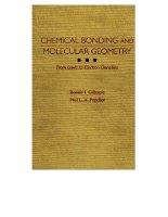 Chemical bonding and molecular geometry( liên kết hóa học và hình học phân tử)