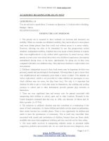Academic readingielts for ielts test