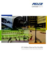 Tài liệu IP Video Security Guide: Global Leaders in Video and Security Systems pptx