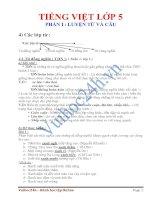 Tài liệu Các lớp từ: Từ đồng nghĩa Từ trái nghĩa. pdf