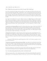 Tài liệu ĐỀ CƯƠNG ÔN TẬP MÔN HTVT1 doc