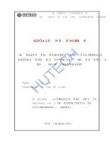 Kế toán tập hợp chí phí SX và tính giá thành sản phẩm tại Công ty cổ phần sản xuất thương mại may Sài Gòn