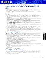 Tài liệu International Business Plan Event, 2013 pdf