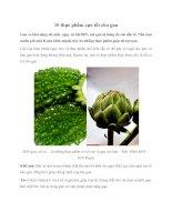 Tài liệu 10 thực phẩm cực tốt cho gan potx