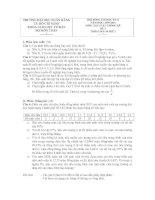 Tài liệu Đề thi Xác suất thống kê đề 3 2009 - 2010 doc