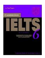 Pratice tests for IELTS 6