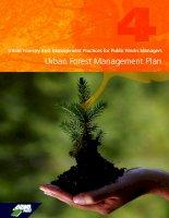 Tài liệu Urban Forestry Best Management Practices for Public Works Managers Urban Forest Management Plan docx